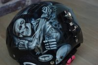Casque de ski Skull and Reaper