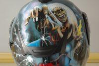 Casque Nolan personnalisation Iron Maiden