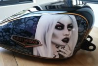 Harley Davidson USA Gothique