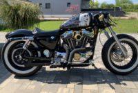 Harley Davidson Pin up Gothique.